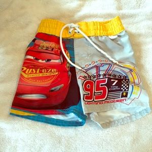 Toddler Boys' Disney Swim Trunks (Cars)
